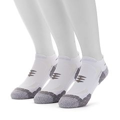 Men's GOLDTOE 3-pack Power Sox Apex Pro Double-Tab No-Show Socks