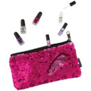 Girls 4-16 Fashion Angels Magic Flip Sequin Nail Polish& Wristlet Set