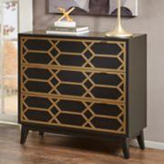 Madison Park Gabrielle 3-Drawer Dresser