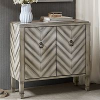 Madison Park Egan Chevron Storage Chest
