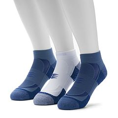Men's GOLDTOE 3-pack Power Sox Apex Pro Double-Tab Low-Cut Socks