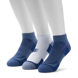 Men's GOLDTOE 3-pack Power Sox Apex Pro Double-Tab Low-Cut Socks