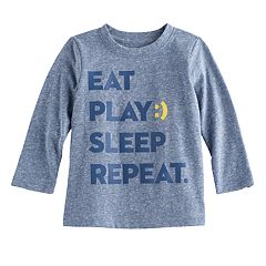 Baby Boy Jumping Beans® Heathered Graphic Tee