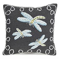 Liora Manne Frontporch Dragonfly II Indoor Outdoor Throw Pillow