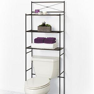 Zenna Home Cross-Style Bathroom Spacesaver
