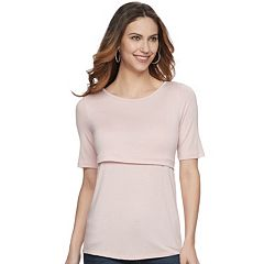Maternity a:glow Empire Popover Nursing Top