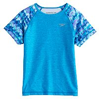 Girls 7-16 Speedo Diamond Geo Sleeve Rashguard