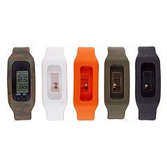 B-Fit Men's Activity Tracker & Interchangeable Band Set - BA5441BK599-078