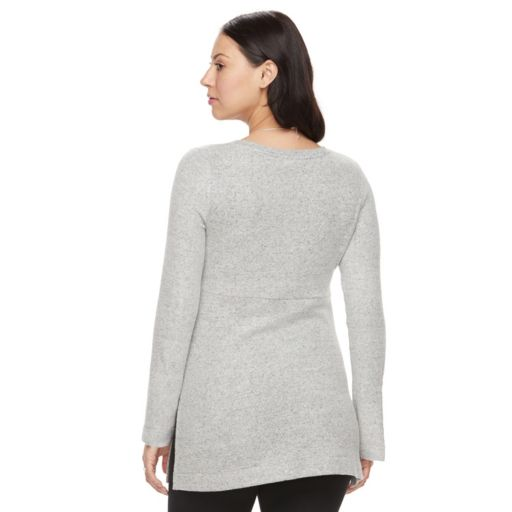 Maternity a:glow V-Neck Sweater