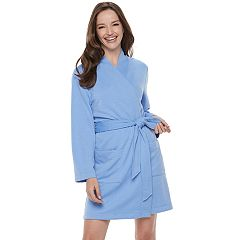 Women's Croft & Barrow® Quilted Wrap Robe