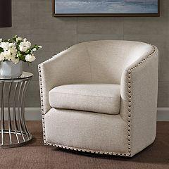 Madison Park Memo Swivel Arm Chair
