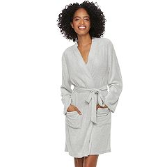 Women's SONOMA Goods for Life™ Pajamas: Terry Knit Wrap Robe