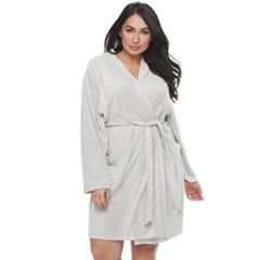 Plus Size SONOMA Goods for Life™ Pajamas: Terry Knit Wrap Robe