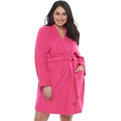 Plus Size SONOMA Goods for Life™ Pajamas: Terry Knit Wrap Robe