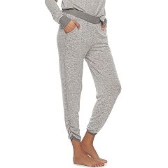 Women's SONOMA Goods for Life™ Ruched Hem Jogger Pants