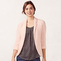 Women's LC Lauren Conrad Notch Collar Blazer