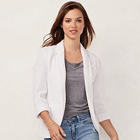 Women's LC Lauren Conrad Love, Lauren Notch Collar Blazer