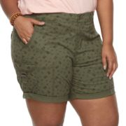 Plus Size SONOMA Goods for Life™ Utility Bermuda Shorts
