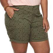 Plus Size SONOMA goods for life™ Utility Bermuda Shorts