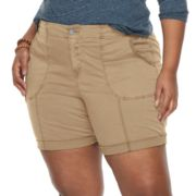 Plus Size SONOMA Goods for Life? Utility Bermuda Shorts