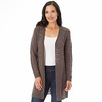 Women's Apt. 9® Pointelle Cardigan
