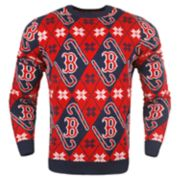 Men's Boston Red Sox Candy Cane Holiday Sweater