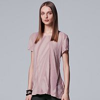 Women's Simply Vera Vera Wang Textured Abstract Tee
