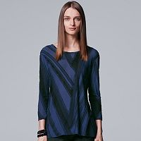 Women's Simply Vera Vera Wang Abstract Textured Tee