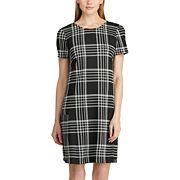 Women's Chaps Stretch Jacquard Dress