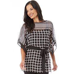 Women's Apt. 9® Kimono Tie Top