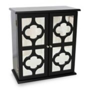 Java Quatrefoil Mirrored Jewelry Box