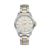 Seiko Men's Two Tone Stainless Steel Watch - SUR247