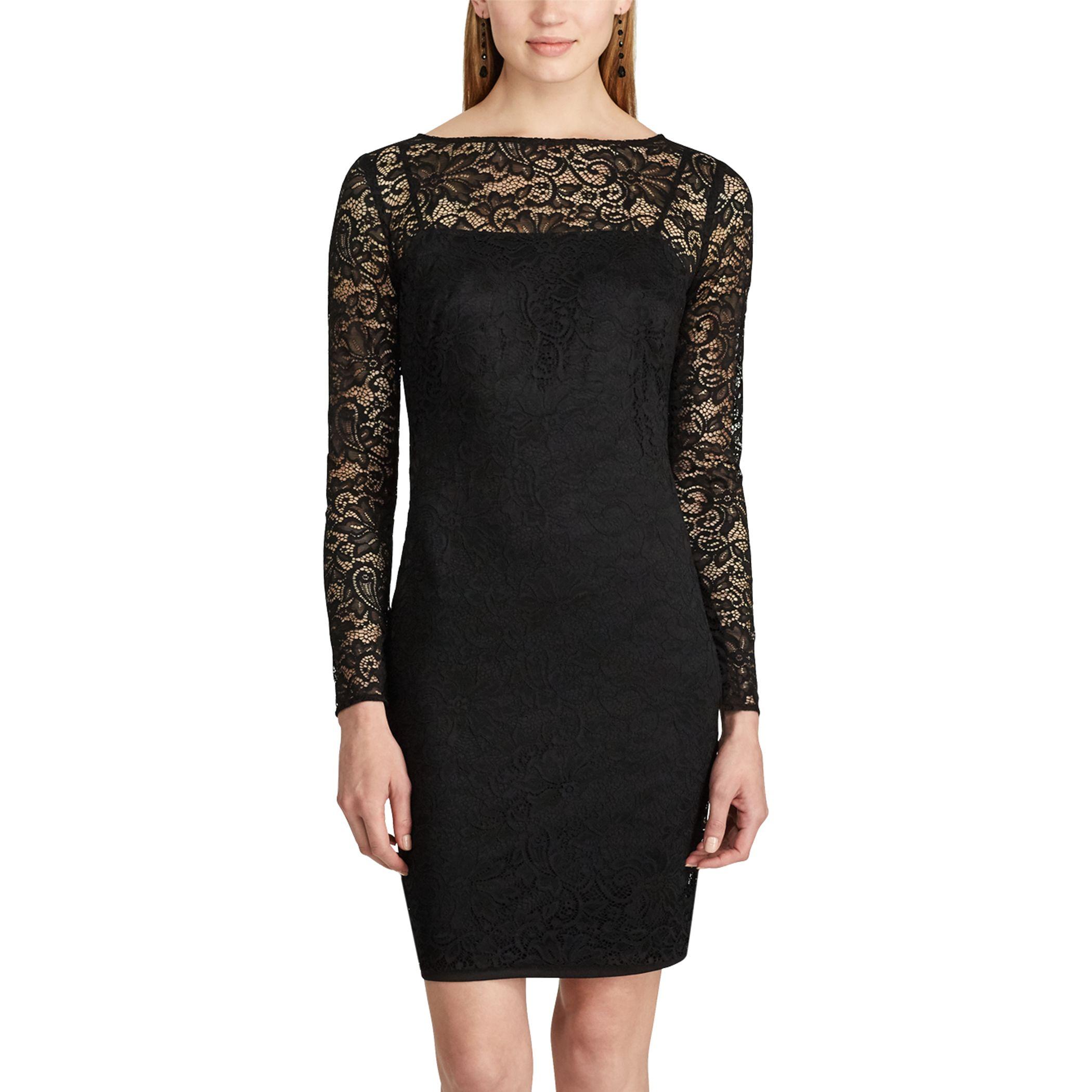 The long black dress kohls