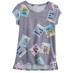 Girls 7-16 & Plus Size SO® Core Tee