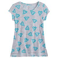 Girls 7-16 & Plus Size SO® Vented Hem Core Tee