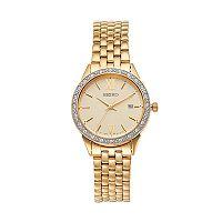 Seiko Women's Crystal Stainless Steel Watch - SUR688