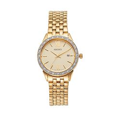 Seiko Women's Crystal Stainless Steel Watch - SUR688