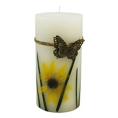 SONOMA Goods for Life™ Woodland Berry 3' x 6' Pillar Candle