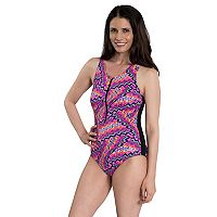 Women's Dolfin Zip One-Piece Swimsuit