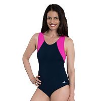 Women's Dolfin Moderate Colorblock One-Piece Swimsuit