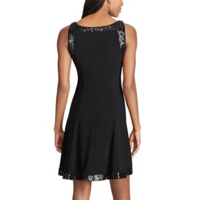 Women's Chaps Sequined Jersey Dress