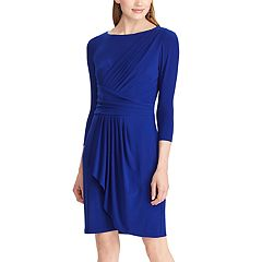 Women's Chaps Pleated Jersey Dress