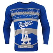 Men's Los Angeles Dodgers Stadium Light-Up Holiday Sweater