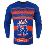 Men's New York Mets Stadium Light-Up Holiday Sweater