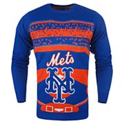 Men's New York Mets Stadium Light-Up Holiday Sweater