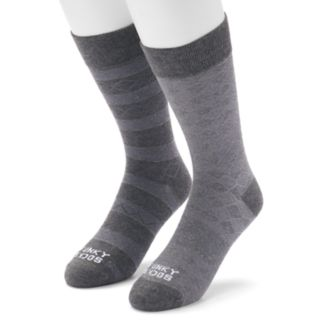 Men's Funky Socks 2-pack Patterned Crew Socks