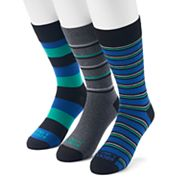 Men's Funky Socks 3-pack Casual Crew Socks