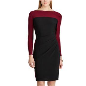 Women's Chaps Colorblock Jersey Dress