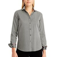 Petite Chaps Striped Button-Down Shirt