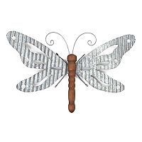 SONOMA Goods for Life™ Galvanized Iron Butterfly Wall Decor